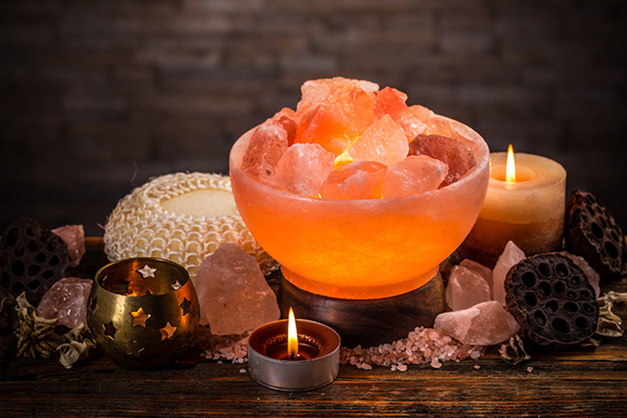 salt lamps for the home