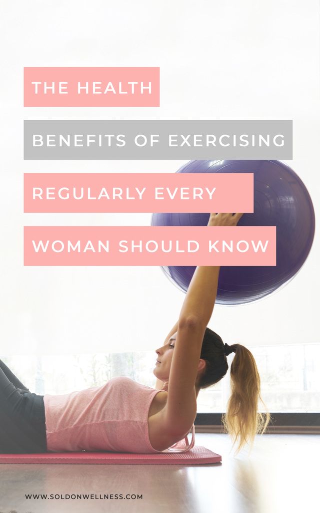 benefits of exercising regularly for women