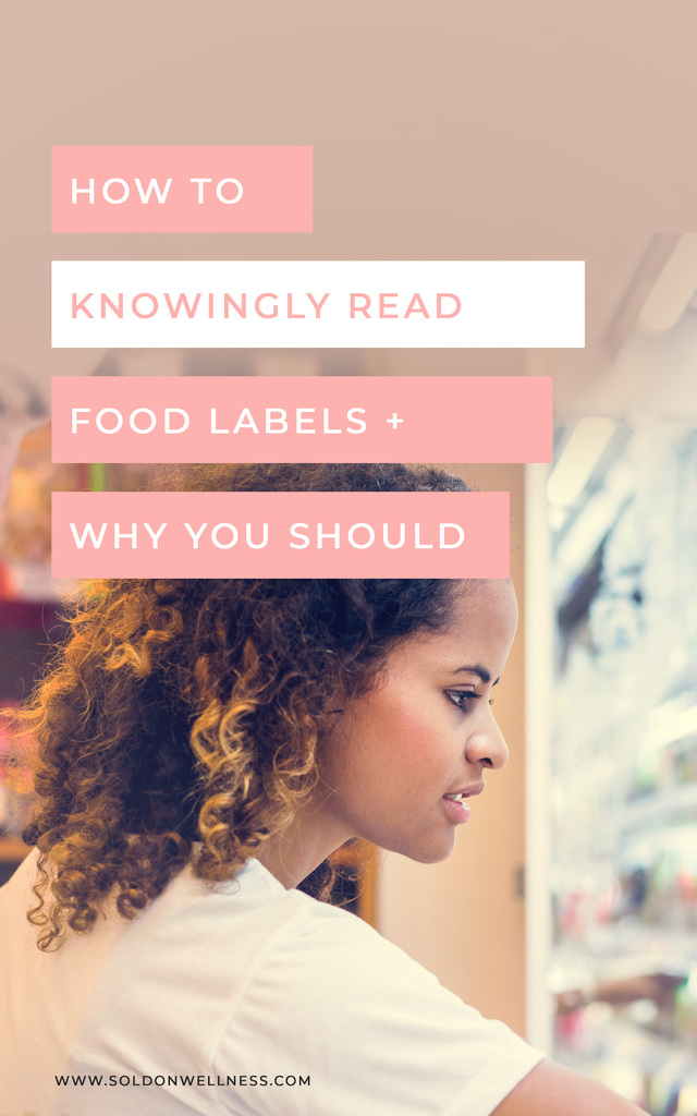knowingly read food labels