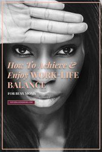 how to achieve work life balance Pinterest 005