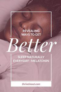 get better sleep naturally all night