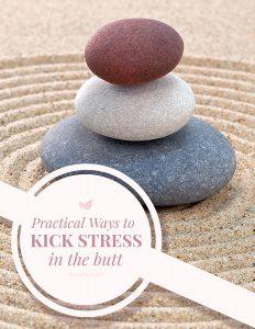 kick stress in the butt