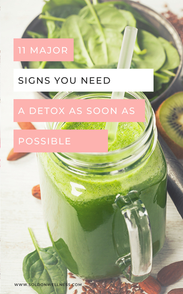 signs you need a detox asap
