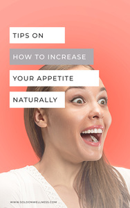 increase appetite naturally
