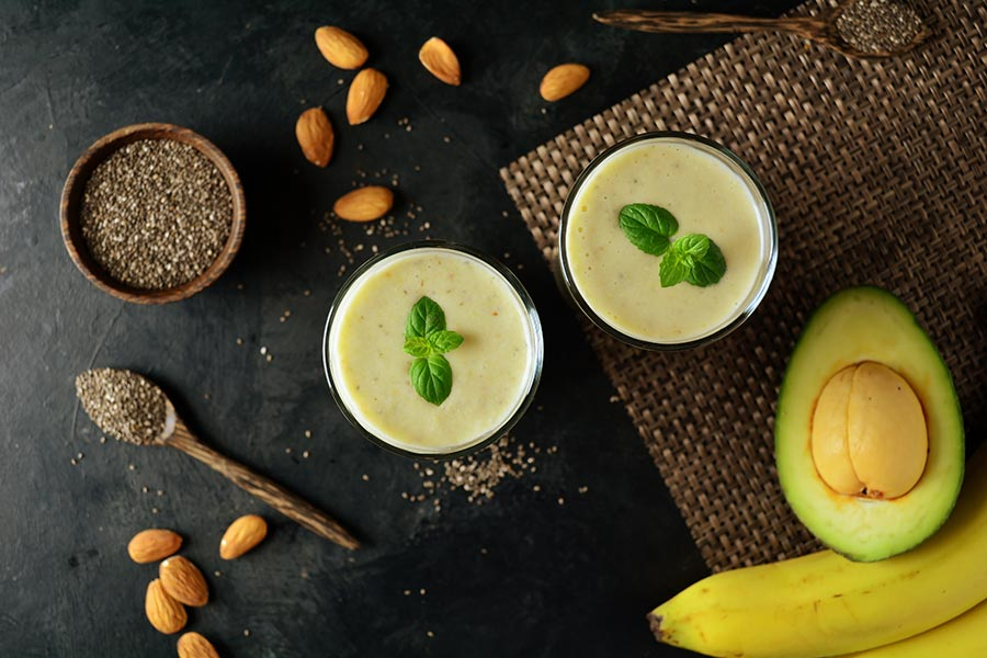 avocado almond butter recipe