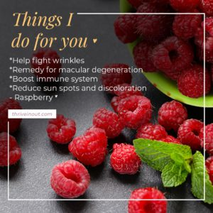 Thrive in out raspberry
