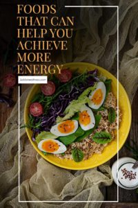 achieve more energy food