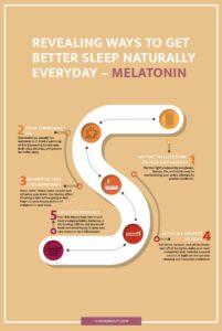 better sleep naturally infographics