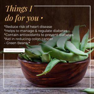 green beans 1 1