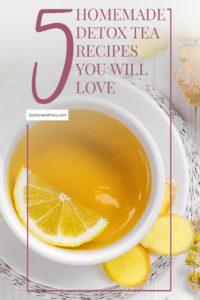 homemade detox tea recipes