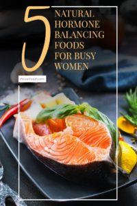 natural hormone balancing foods