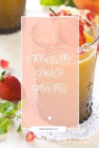 Healthy detox smoothie recipes spinach