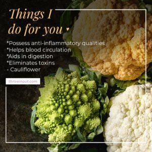 thriveinout cauliflower