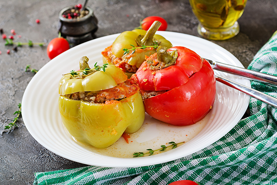 easy stuffed bell peppers