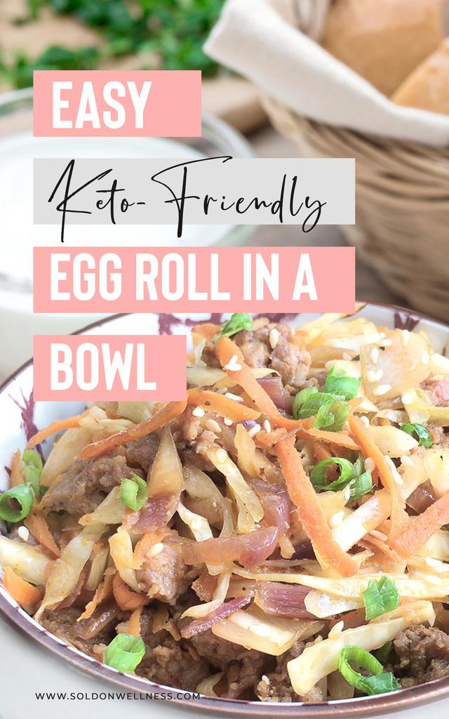 easy keto friendly egg roll