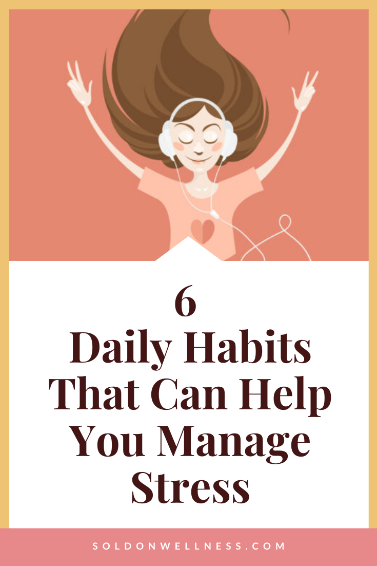 daily habits to manage stress