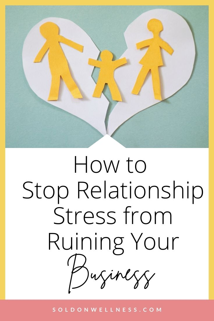 how to handle relationship stress