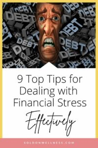 tips for dealing with financial stress