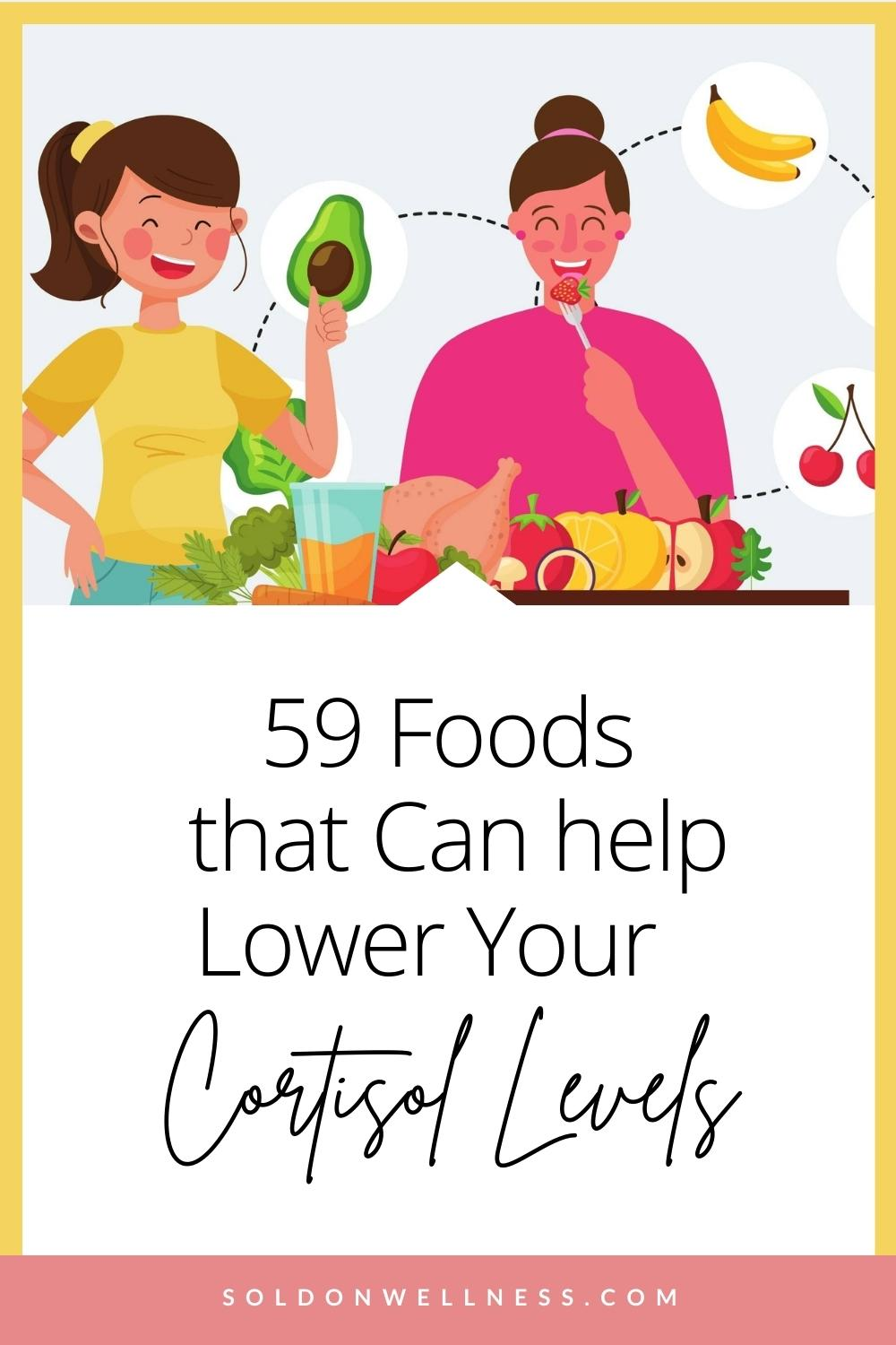 foods that lower stress levels