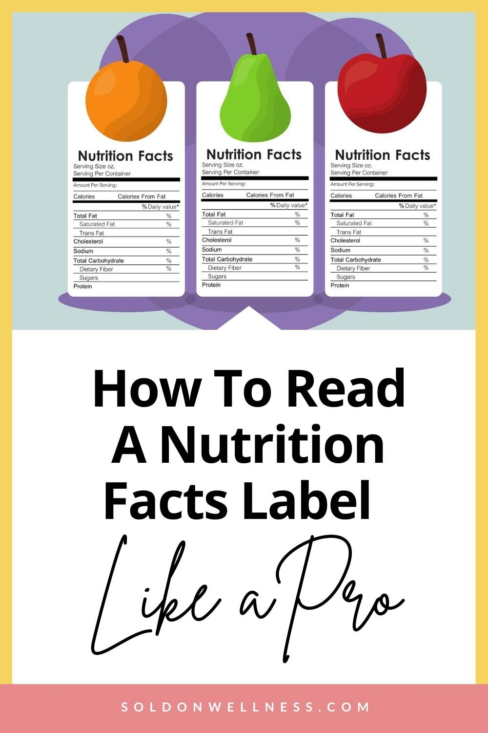 how to read a nutrition facts label